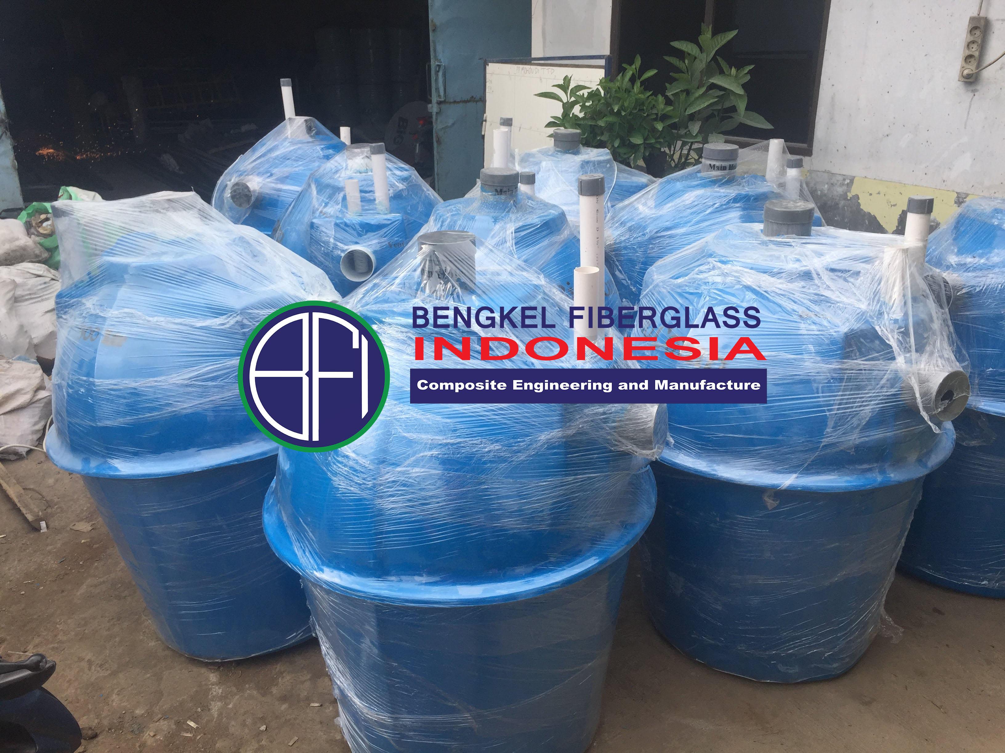 Bio Septic Tank 500 Liter. Bengkel Fiberglass Indonesia
