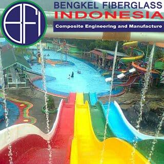 water slide fiberglass